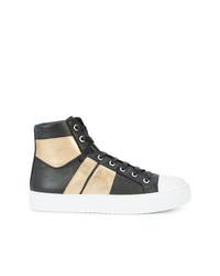 Zapatillas altas de cuero negras de Amiri