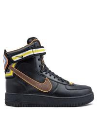Zapatillas altas de cuero negras de Nike