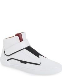 Zapatillas altas de cuero