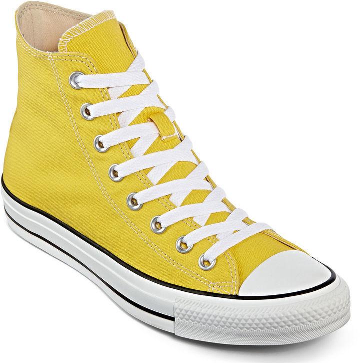 converse amarillas