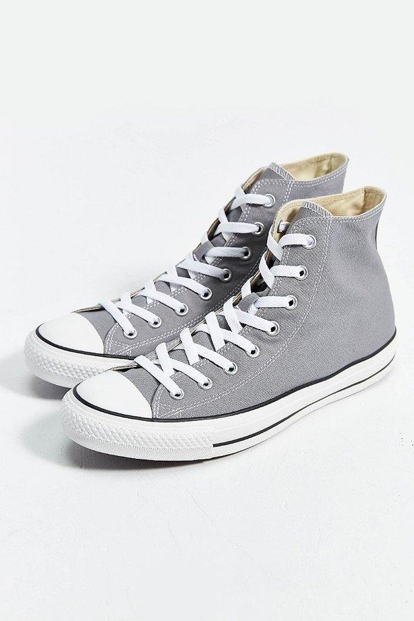 converse gris altas