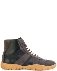 Zapatillas altas en gris oscuro original 2167323