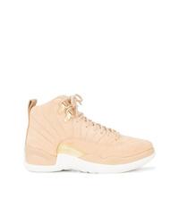 Zapatillas altas marrón claro de Nike