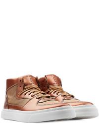 Zapatillas altas marrónes
