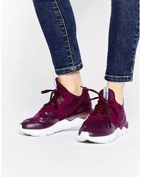 Zapatillas altas morado oscuro