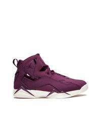 Zapatillas altas morado oscuro de Jordan