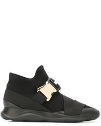 Zapatillas altas negras de Christopher Kane