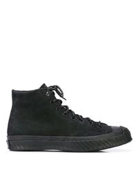 Zapatillas altas negras de Converse
