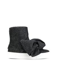 Zapatillas altas negras de Joshua Sanders