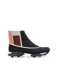 Zapatillas altas negras de Marni