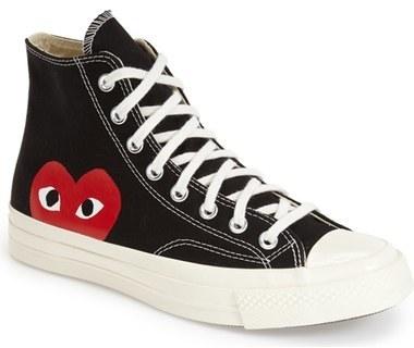 Zapatillas altas negras de Comme des Garcons: dónde y comprar y dónde cómo 2407c0