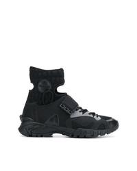Zapatillas altas negras de Versace