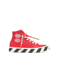 Zapatillas Altas Rojas De Off White Mex 8 055 Farfetch Com