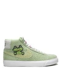 Zapatillas altas verdes de Nike