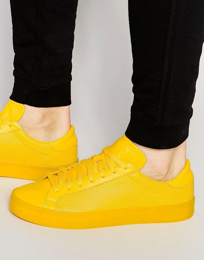 zapatillas adidas amarillas