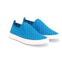 Zapatillas azules de Stella McCartney