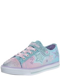 Zapatillas celestes de Skechers Kids