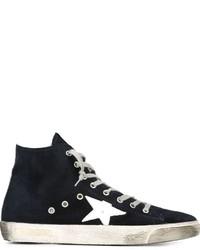 Zapatillas de ante azul marino de Golden Goose Deluxe Brand