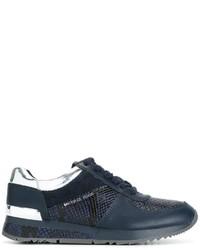 Zapatillas de ante azul marino de MICHAEL Michael Kors
