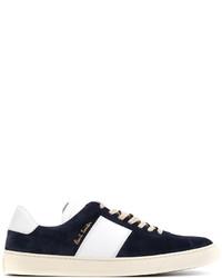 Zapatillas de Ante Azul Marino de Paul Smith