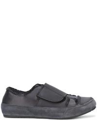 Zapatillas de ante en gris oscuro de Pedro Garcia
