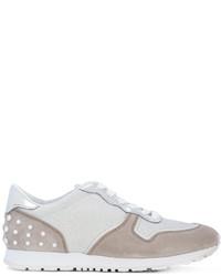 Zapatillas de ante grises de Tod's
