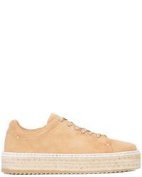 Zapatillas de ante marrón claro de Rag & Bone