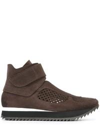 Zapatillas de ante marrónes de Pedro Garcia