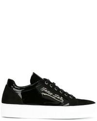 Zapatillas de ante negras de Philipp Plein