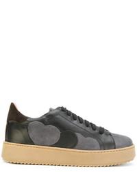 Zapatillas de ante negras de Twin-Set