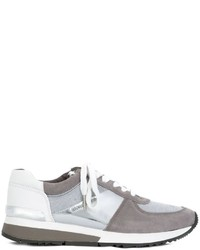 Zapatillas de ante plateadas de MICHAEL Michael Kors