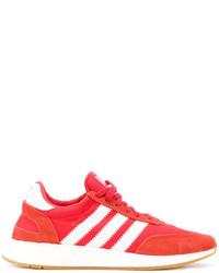 Zapatillas de ante rojas de adidas