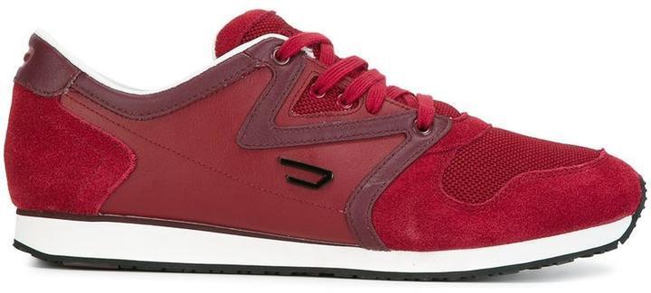 b41c2066 Zapatillas de ante rojas de Diesel, MEX$1,646 | farfetch.com ...