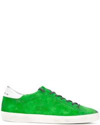 Zapatillas de ante verdes de Golden Goose Deluxe Brand
