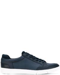 Zapatillas de Cuero Azul Marino de Calvin Klein