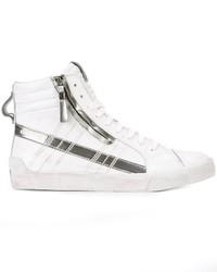 Zapatillas de Cuero Blancas de Diesel