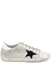 Zapatillas de cuero blancas de Golden Goose Deluxe Brand
