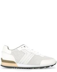 Zapatillas de cuero blancas de Hugo Boss