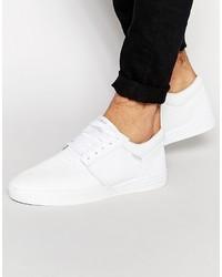 Zapatillas de Cuero Blancas de Supra