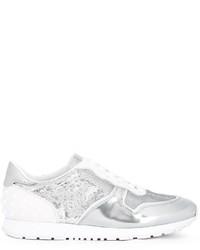 Zapatillas de cuero blancas de Tod's