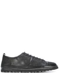 Zapatillas de cuero negras de Marsèll