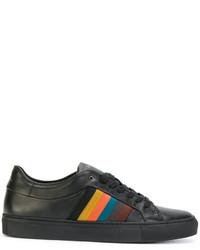 Zapatillas de Cuero Negras de Paul Smith