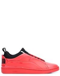 zapatillas rojas puma hombre