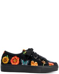 Zapatillas estampadas negras de Etro