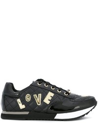 Zapatillas negras de Love Moschino