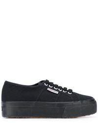 Zapatillas negras de Superga