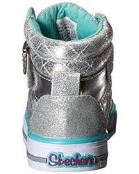 Zapatillas plateadas de Skechers Kids