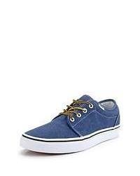 Zapatillas plimsoll azules