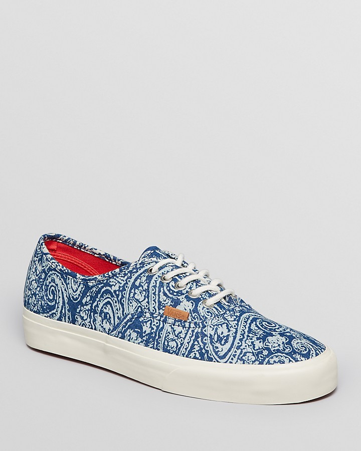 zapatillas vans estampadas