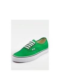 Zapatillas plimsoll verdes original 2039829